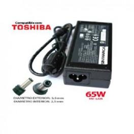 Cargador Toshiba compatible 19v 3,4A
