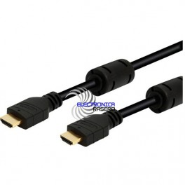CONEXIÓN HDMI M-M HIGH SPEED ETHERNET 2 METROS