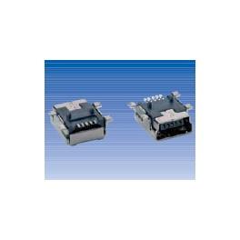 Conector mini USB A hembra SMT&DIP