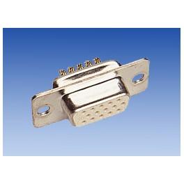 Conector Sub-D 15 VGA hembra