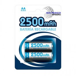 Pila recargable AA 2500 mAh (blister 2)