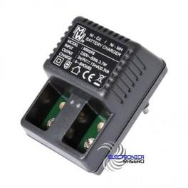 Cargador de baterías 1-2 9v