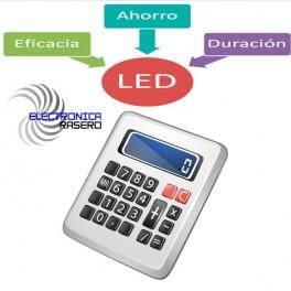CALCULADORA DE AHORRO LED