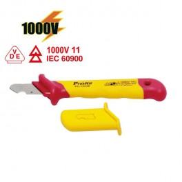 Cuchillo electricista gancho 1000v