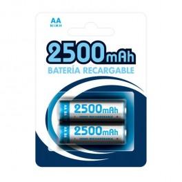 Pila recargable AA 2500mAh (Blíster 2)