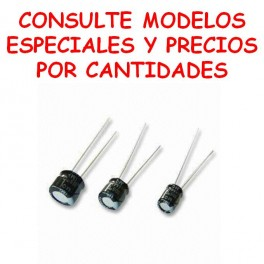 Condensador electrolítico mini