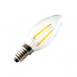 Bombilla led E14 C35 2W filamento