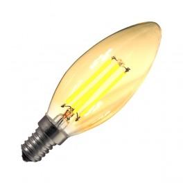 Bombilla led E14 C35 3W filamento