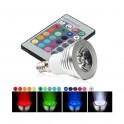Bombilla led E14 3W RGB