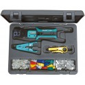 Kit de herramientas para redes y telefonía
