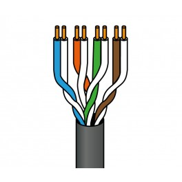 Cable UTP cat5e rígido exterior 305 METROS