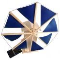 Molino de viento por energía solar