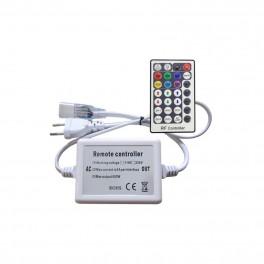 Controlador tira led RGB 220VAC RF 28 teclas