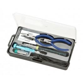 Kit herramientas con soldador por USB