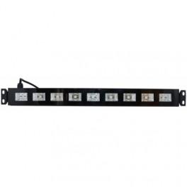 Barra de led luz negra 27W