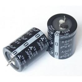 Condensador electr. 180uF 400V 25x25,4mm
