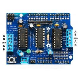 Controlador de motores y servos Arduino Uno