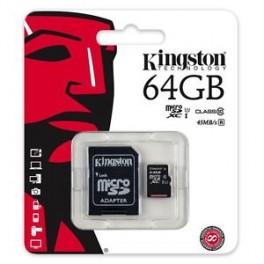 MICRO SD 64GB KINGSTON