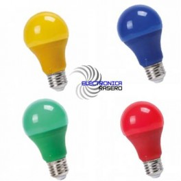 BOMBILLA LED E27 9W COLOR A60