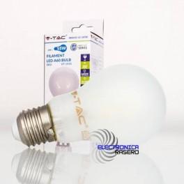 BOMBILLA LED E27 5W VIDRIO
