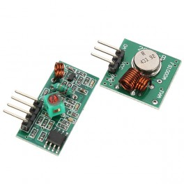 Módulo RF emisor+receptor 433Mhz