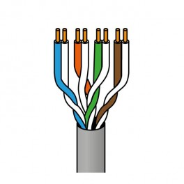 Cable FTP rígido Cat5e interior 100 METROS