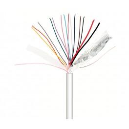 Cable para alarma y portero 6+2 100 metros