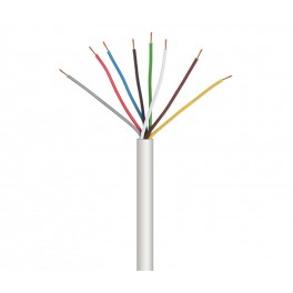 Cable para alarma y portero 10 cables 100 metros