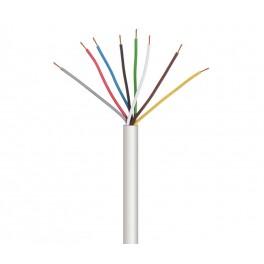 Cable para alarma y portero 6 cables 100 metros