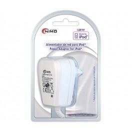 Cargador Alimentador 100-240Vca compatible con iPod