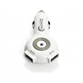 Cargador Alimentador 12Vcc / Dual USB 5vcc-1A x 1 y 2A x 1