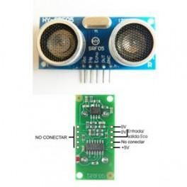 Sensor de distancia por ultrasonidos SRF05