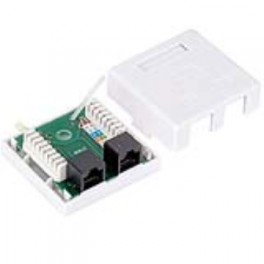 Base RJ45 superficie Cat5e