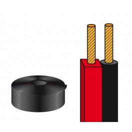 Cable altavoz paralelo bicolor 2x0,75
