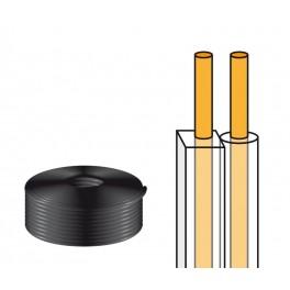 Cable altavoz paralelo blanco 2x0,50