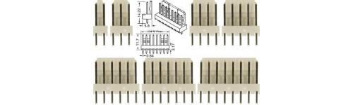 CONECTORES MOLEX PASO 2.54