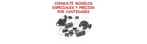 CONDENSADORES ELECTROLITICOS RADIALES