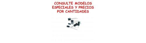 CONDENSADORES ELECTROLITICOS ESPECIALES